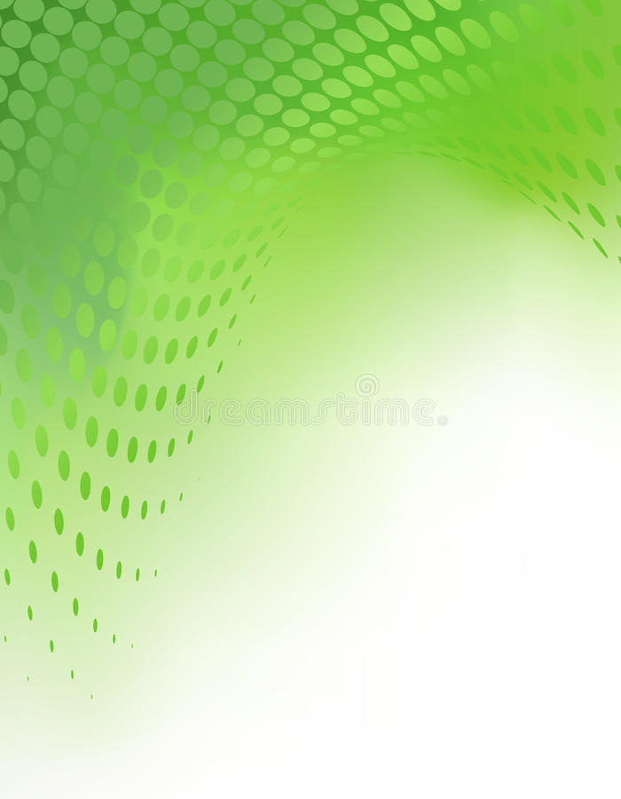 Fond abstrait vert Tempate de vecteur illustration de vecteur