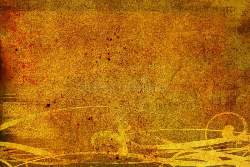 Fond antique illustration de vecteur