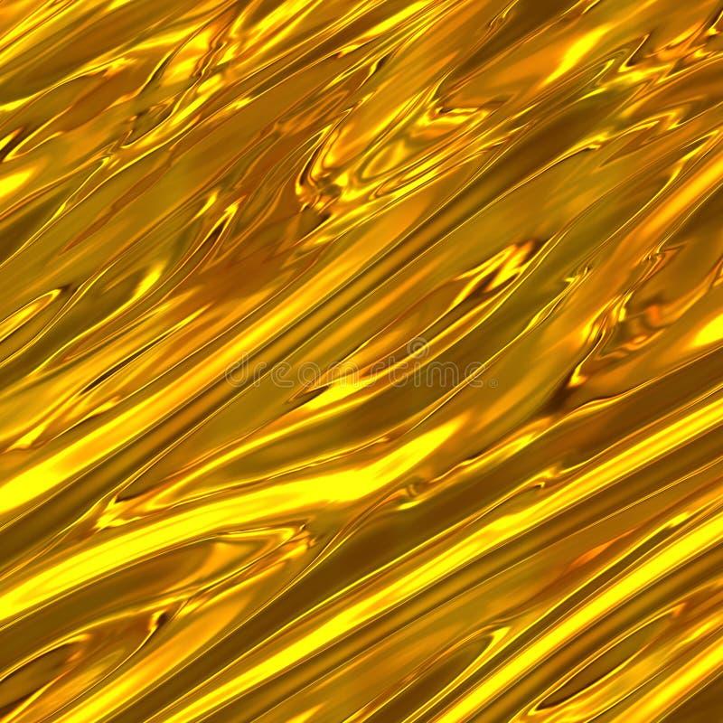Fond antique d'or illustration libre de droits