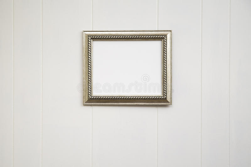 Fond antique vide de cadre - horizontal image libre de droits