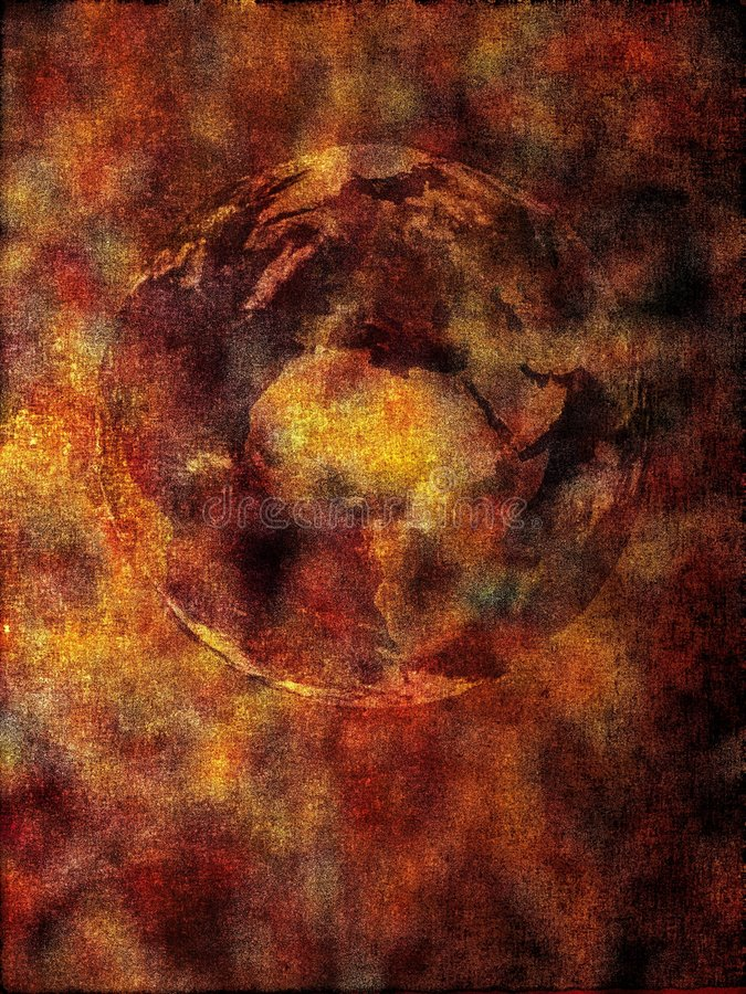 Fond - apocalypse illustration stock