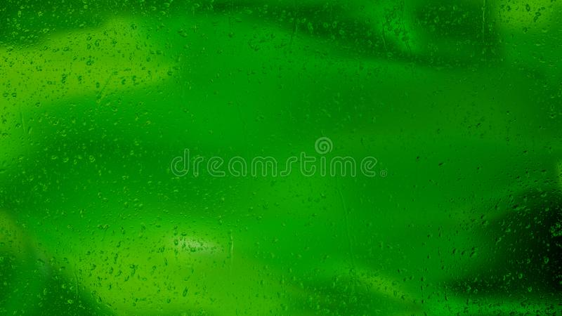 Fond aqueux vert-foncé illustration de vecteur