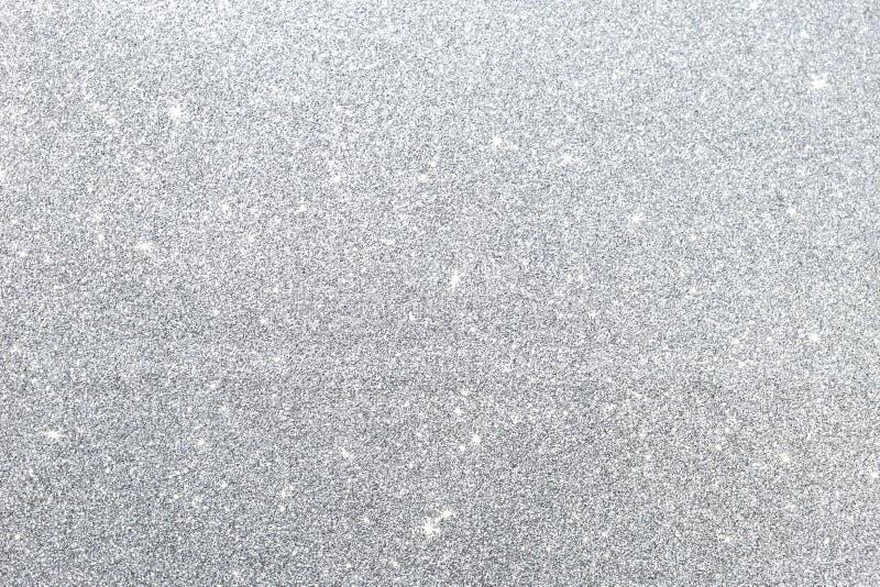 Fond argenté abstrait de texture de scintillement image libre de droits