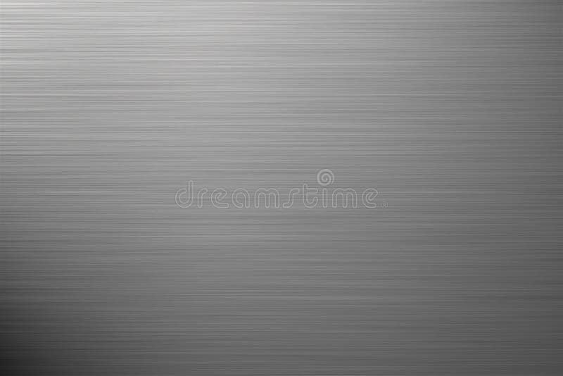 Fond argenté en aluminium illustration libre de droits