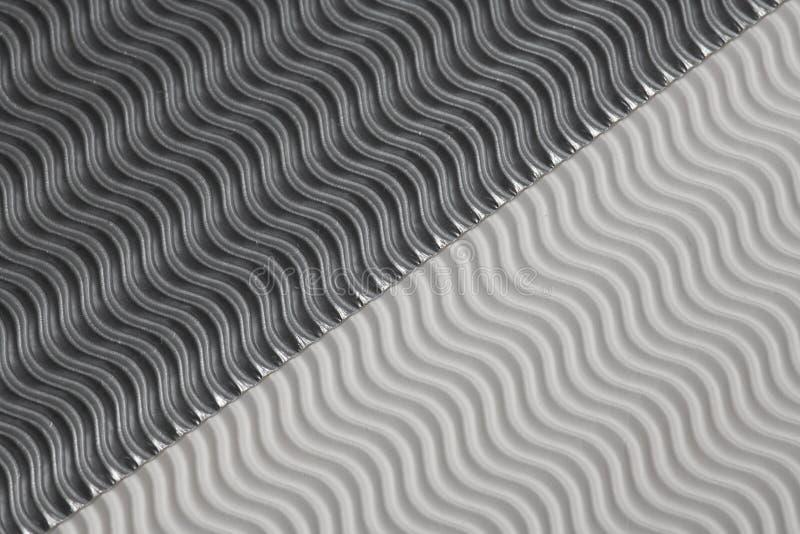 Fond argenté et blanc de structure de vagues Papier gentil avec l'espace pour le texte photo libre de droits