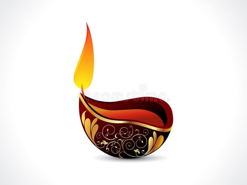 Fond artistique abstrait de diwali