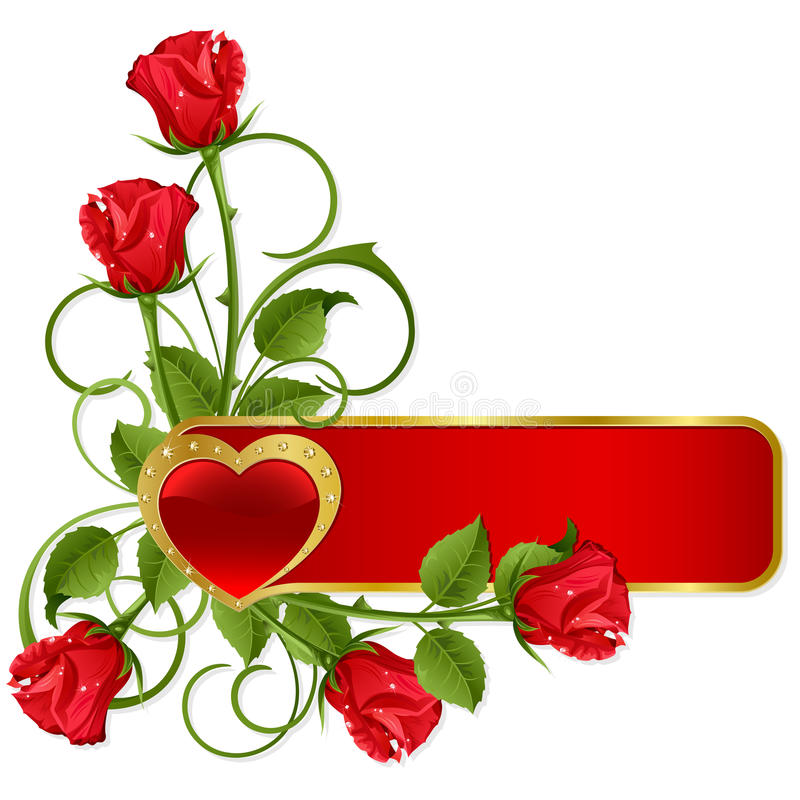 Fond au St.Valentine illustration de vecteur