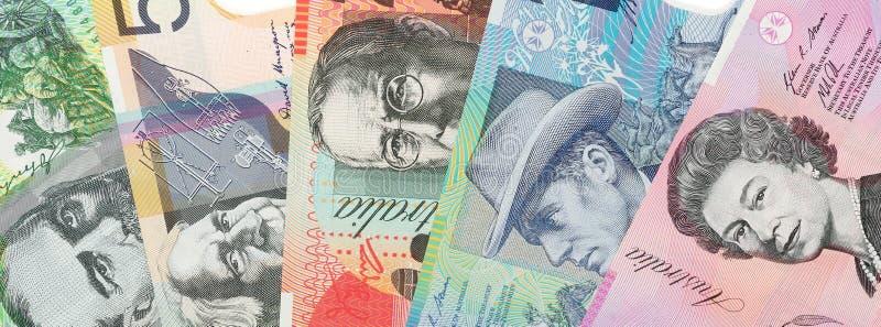 Fond australien de devise photos stock