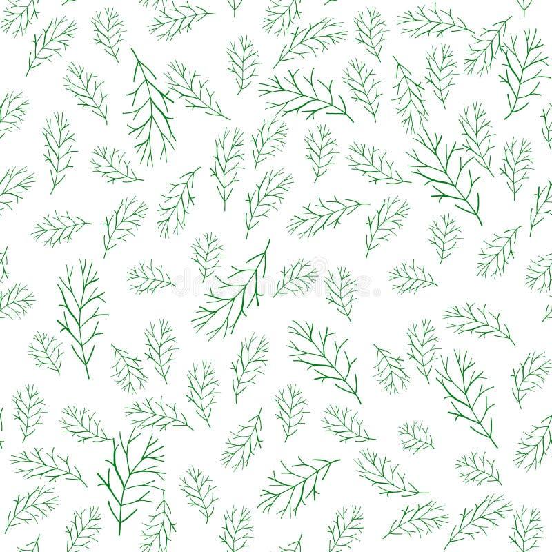 Fond avec des brins d'herbe illustration stock