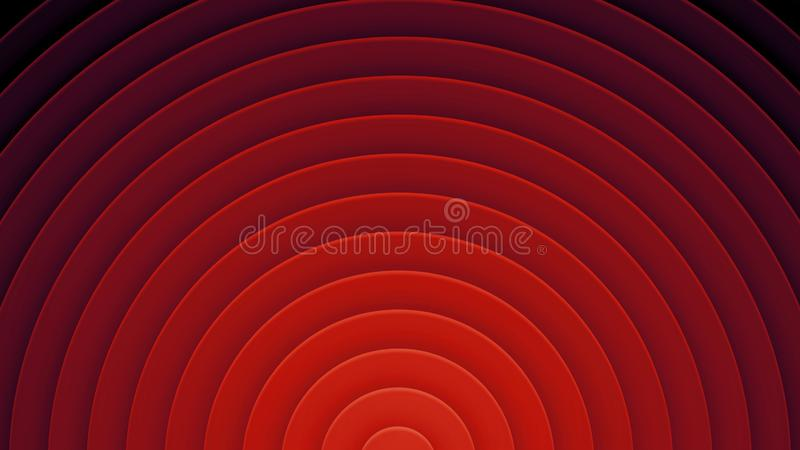 Fond avec des cercles dans un style de papier Avec un grand choix de couleurs photos libres de droits