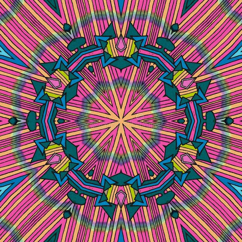 Fond avec des couleurs claires illustration de vecteur