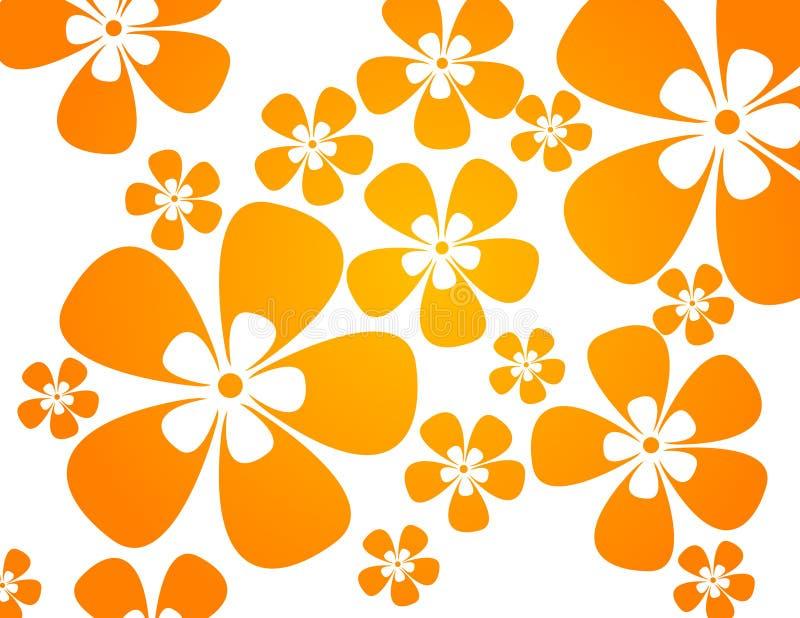 Fond avec des fleurs dans la guerre illustration libre de droits