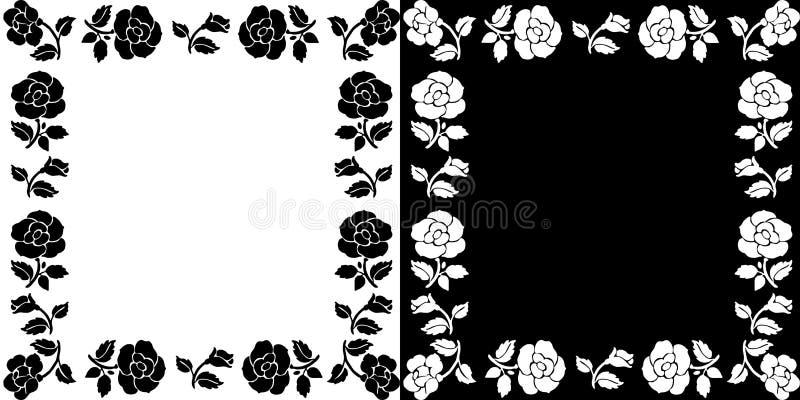 Fond avec des roses illustration libre de droits