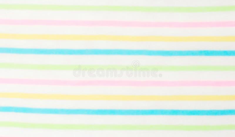 Fond avec l'alternance des rayures blanches et colorées images stock