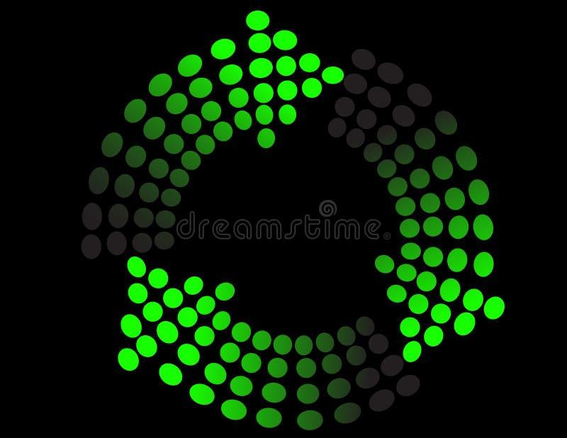 Download Fond avec la flèche verte illustration de vecteur. Illustration du ordinateur - 8664605