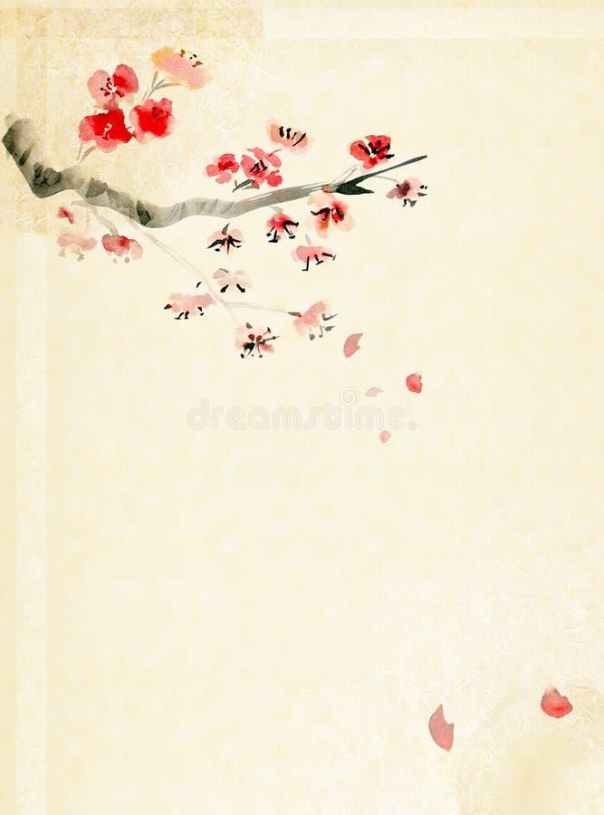 Fond avec la fleur de plomb illustration libre de droits