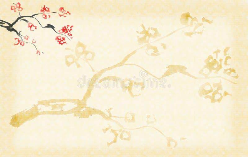 Fond avec la fleur de plomb illustration stock