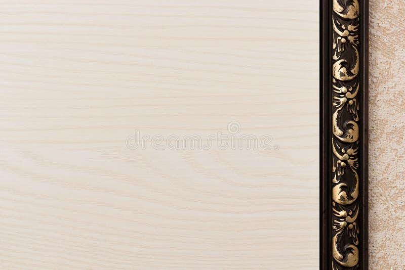 Fond avec la texture en bois légère photos libres de droits