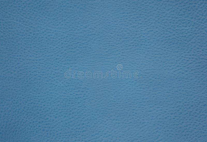 Fond avec le cuir d'eco de bleu de ciel, fin image de photo vers le haut d'†« images stock