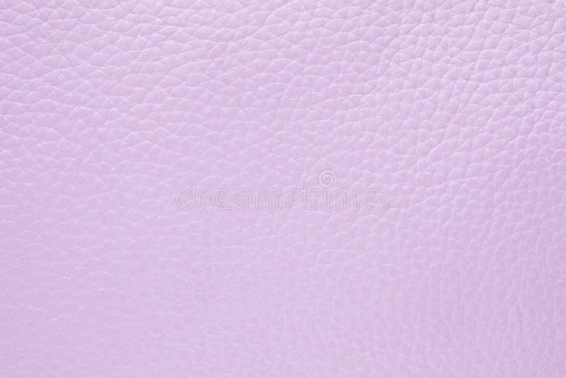 Fond avec le cuir lilas léger d'eco, fin image de photo vers le haut d'†« photographie stock libre de droits