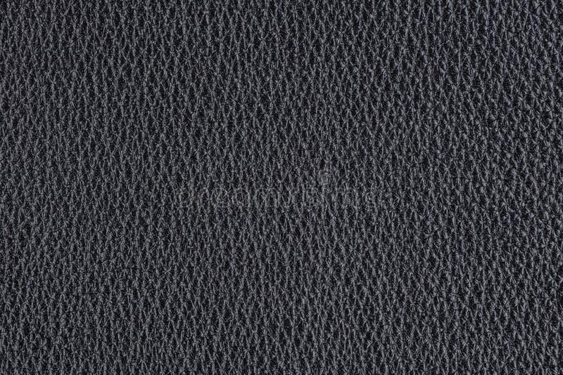 Fond avec le cuir noir d'eco, fin image de photo vers le haut d'†« images libres de droits