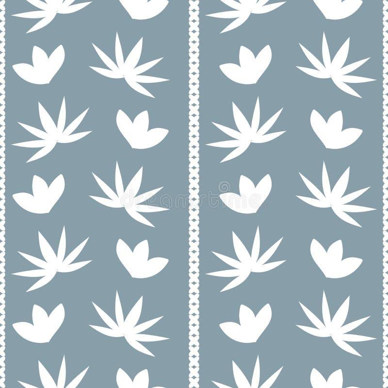 Download Fond Avec Le Modèle Abstrait De Fleurs Et De Feuilles Illustration de Vecteur - Illustration du texture, décoratif: 76078499