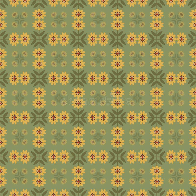 Download Fond Avec Le Modèle De Fleurs Abstrait Illustration de Vecteur - Illustration du conception, coloré: 76080784