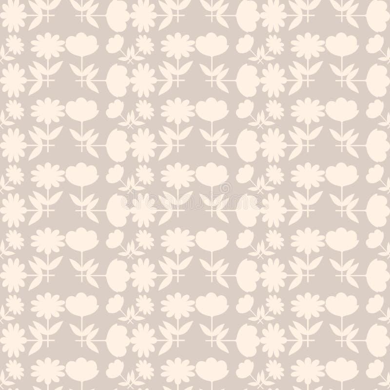 Download Fond Avec Le Modèle De Fleurs Abstrait Illustration de Vecteur - Illustration du illustration, papier: 76081112