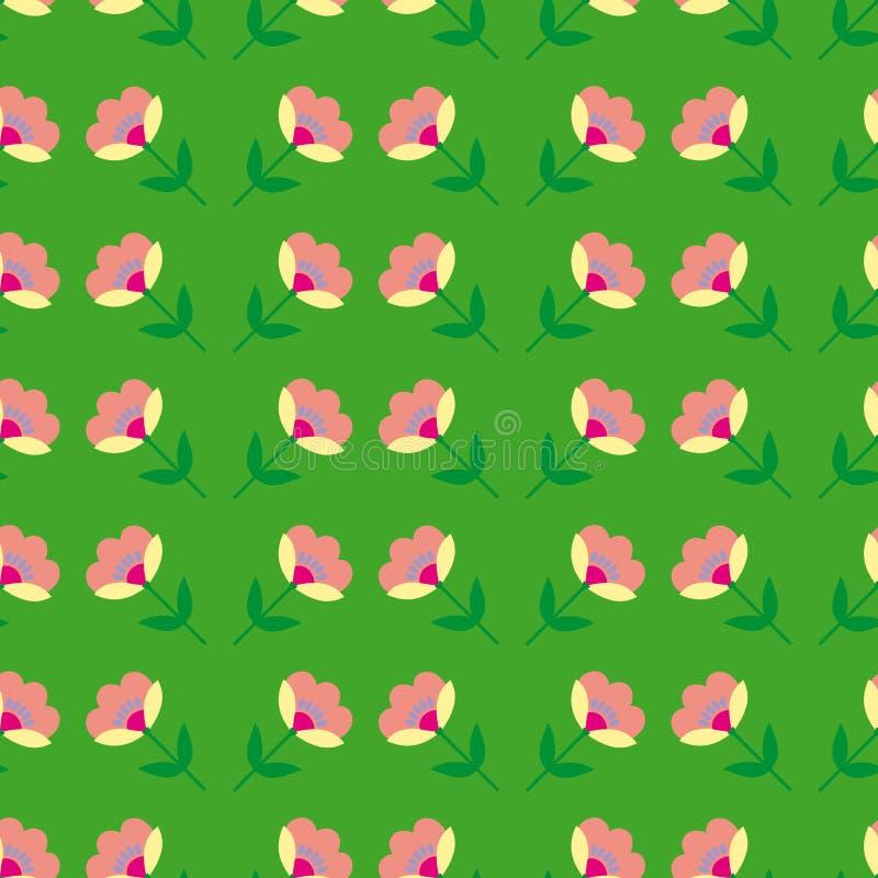 Download Fond Avec Le Modèle De Fleurs Coloré Par Résumé Illustration de Vecteur - Illustration du illustration, rétro: 76080038