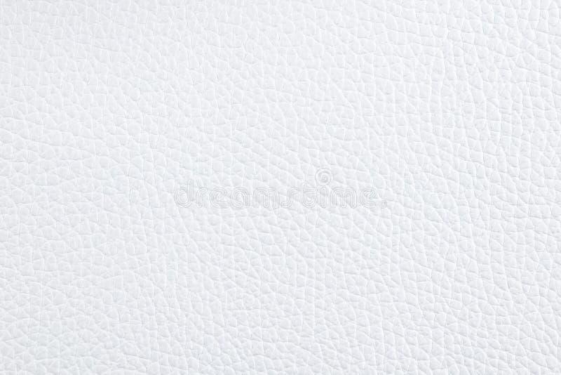 Fond avec le similicuir blanc, fin image de photo vers le haut d'†« images stock