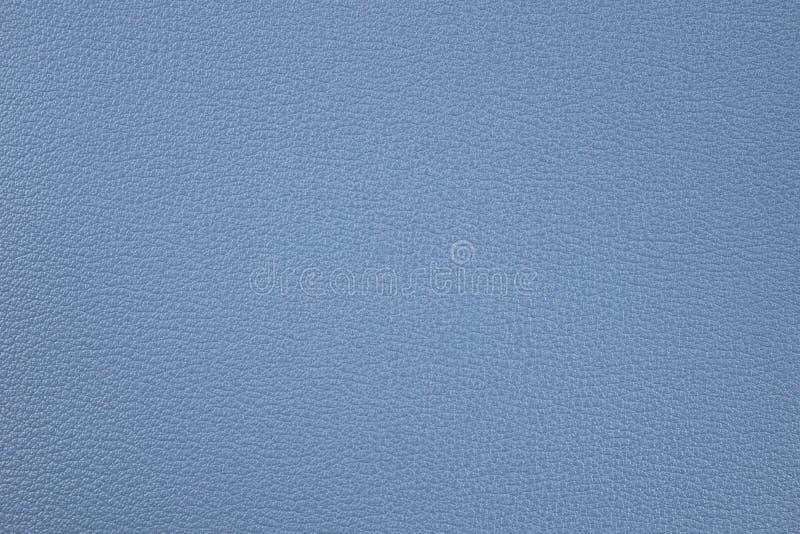 Fond avec le similicuir bleu, fin image de photo vers le haut d'†« photo libre de droits