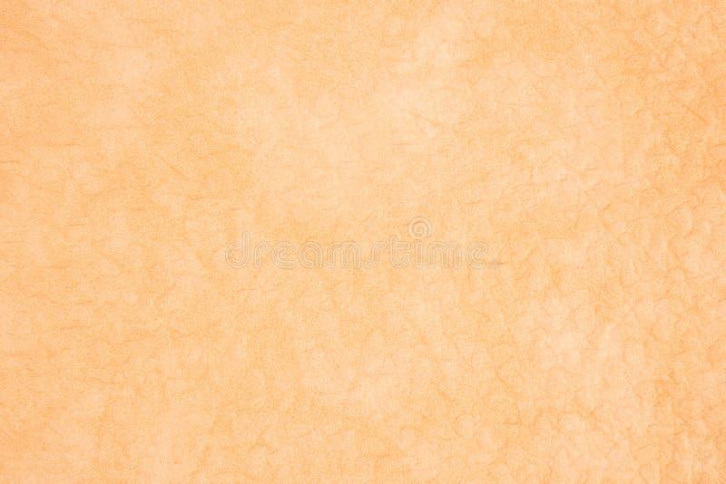 Fond avec le similicuir jaune, fin image de photo vers le haut d'†« image stock