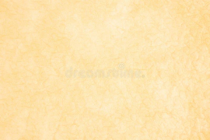 Fond avec le similicuir jaune pâle, fin image de photo vers le haut d'†« photographie stock libre de droits