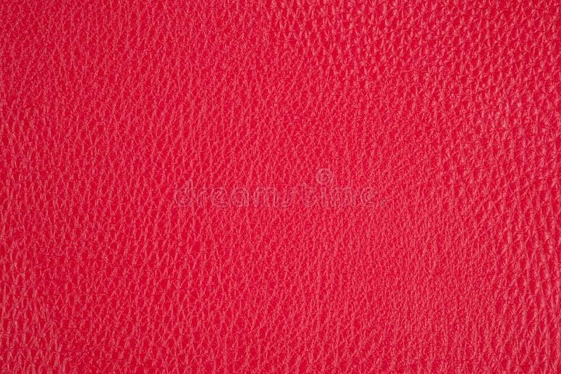 Fond avec le similicuir rouge, fin image de photo vers le haut d'†« photos stock