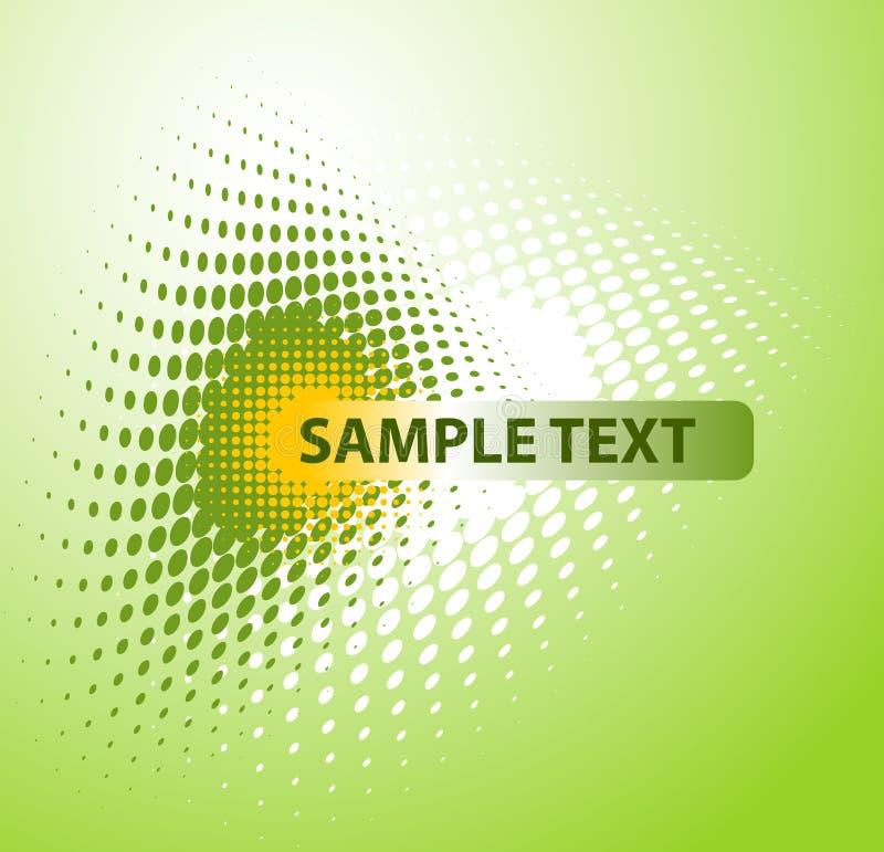 Fond avec le texte-espace illustration de vecteur
