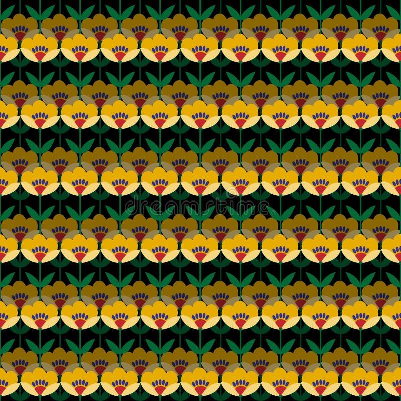 Download Fond Avec Les Fleurs Abstraites Illustration Stock - Illustration du main, fleurs: 76079879