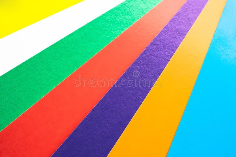 Fond avec les pistes color?es Plan rapproch? photos stock