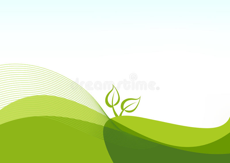 Fond avec une centrale illustration stock