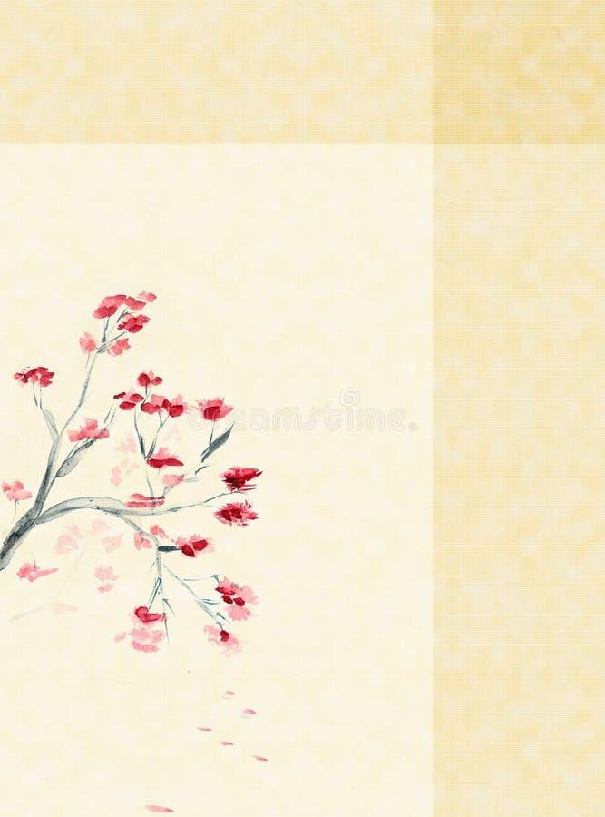 Fond avec une fleur de plomb illustration libre de droits