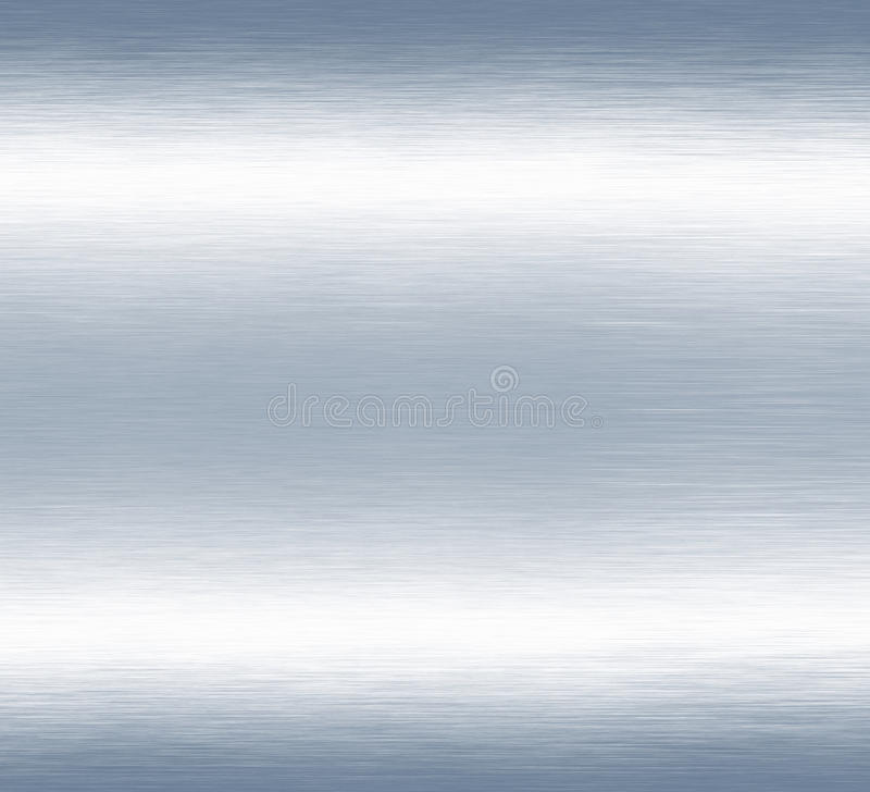 Fond balayé par abstrait en métal. illustration libre de droits