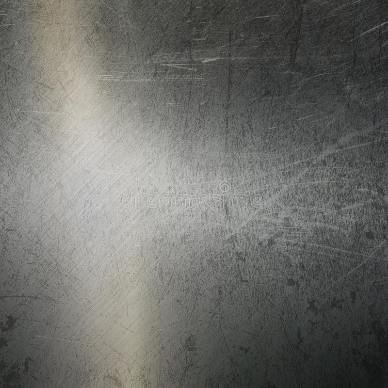 Fond balayé par grunge en métal illustration libre de droits