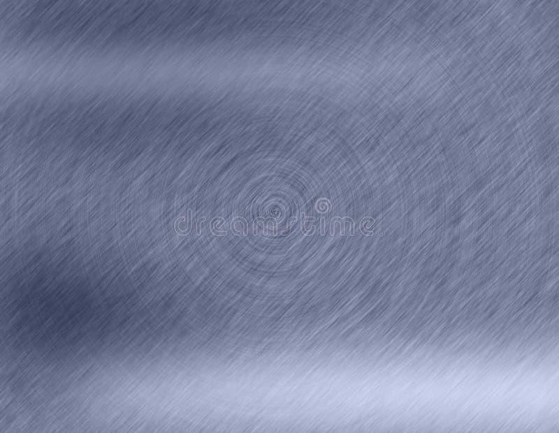 Fond balayé par métal ou texture d'acier inoxydable images stock