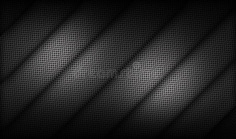 Fond balayé par métal, surface métallique perforée illustration libre de droits