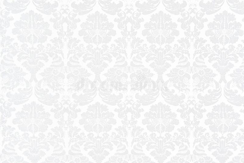 Fond baroque blanc photographie stock libre de droits