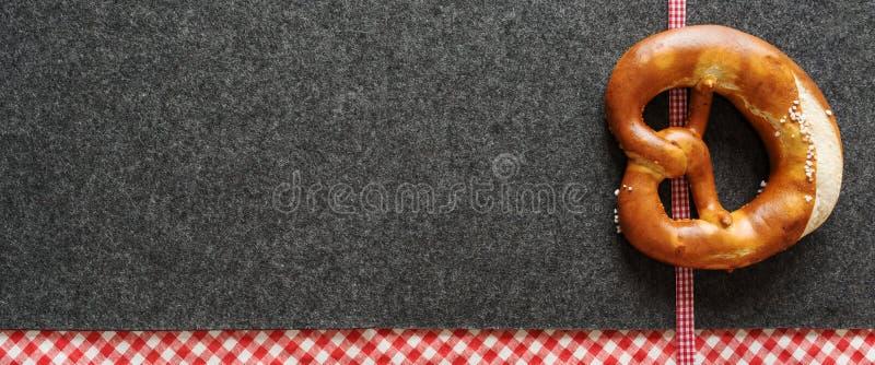 Fond bavarois pour un Oktoberfest images libres de droits