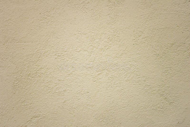 Fond beige de mur de ciment, texture en pierre, béton, amorce, c photo stock