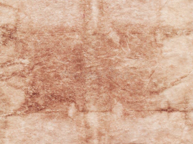 Fond beige feuille de papier texturisée de résumé de vieille Copiez l'espace Parchemin de vintage photo stock