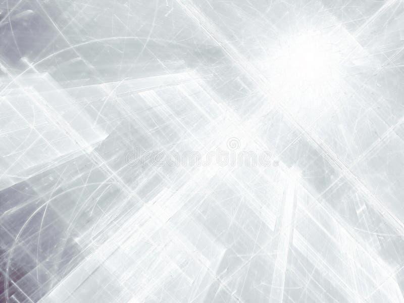 Fond blanc abstrait de style de technologie - image digitalement produite photo libre de droits