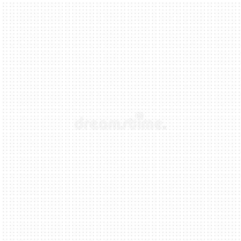 Fond blanc avec les points gris illustration de vecteur