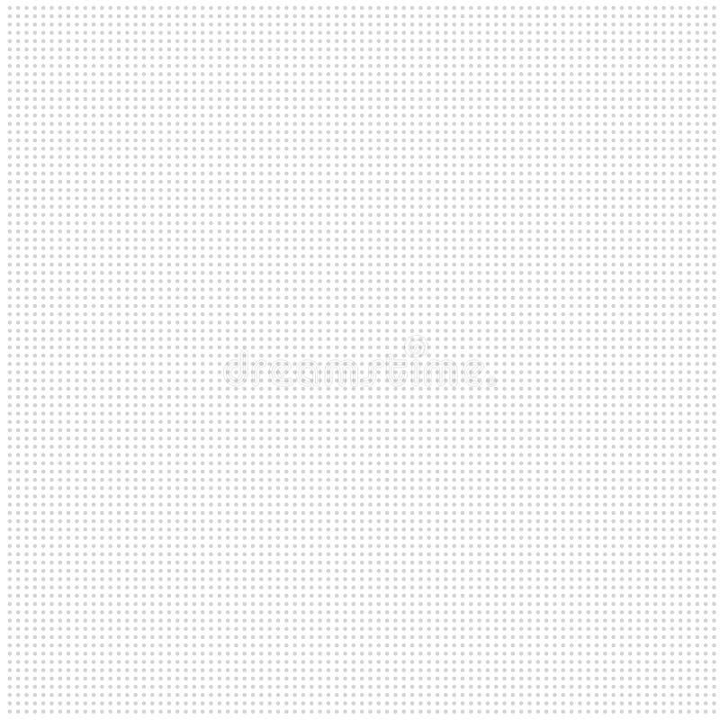 Fond blanc avec les points gris illustration stock